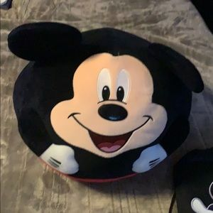 Giant Mickey Mouse soft stuffie & Mickey tote